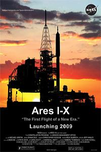 Schrott schon vor dem ersten Start? Ende Oktober sollte mit dem Testflug von Ares I-X eigentlich eine neue Ära beginnen. (Bild: Nasa)http://www.nasa.gov/images/content/272718main_aresIx_mposter_lg_full.jpg